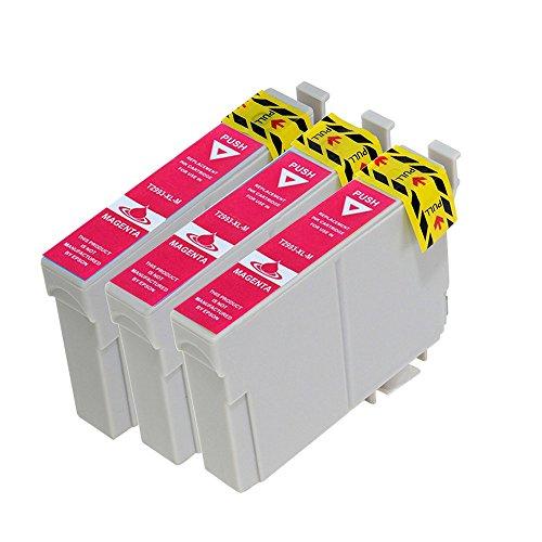vivink 3PK rigenerate cartucce d' inchiostro per Epson 29X L Magenta T2992compatibile con Epson Expression Home XP-235XP-332XP-335xp-442con chip