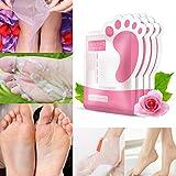 Fuß Peeling Maske, SET-SAIL Soft Füße entfernen Hornhaut hart tote Haut für Samtweiche Füße, Hot Skin Fuß Maske Peeling Nagelhaut Ferse Füße Pflege Anti Aging