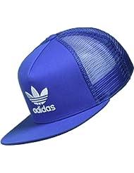adidas Trefoil Trucker Gorra de Tenis, Hombre, Azul, OSFM