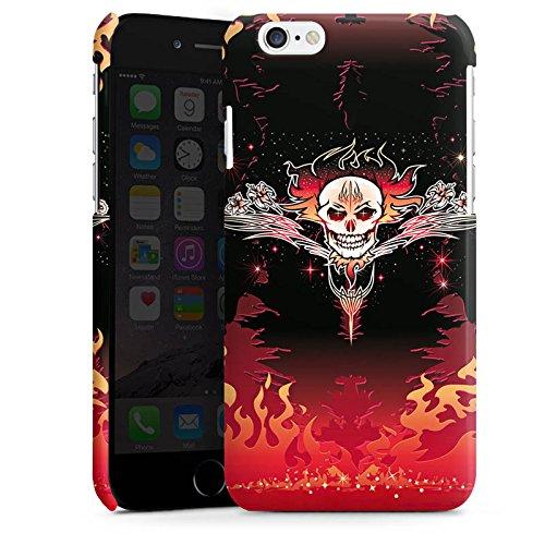 Apple iPhone 4 Housse Étui Silicone Coque Protection Tribal Crâne Crâne Cas Premium brillant