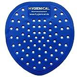 12 Urinalsiebe Hygienical mit Duft, Urinaleinsatz aus Kunststoff, Pissoir-Einsatz, Urinal-Einlage parfümiert im SET