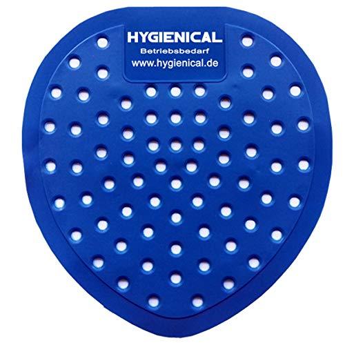 Kommerzielle Sieb (12 Urinalsiebe Hygienical mit Duft, Urinaleinsatz aus Kunststoff, Pissoir-Einsatz, Urinaleinsatz parfümiert im SET)