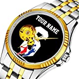 Mechanische Uhr Herrenuhr Klassische mechanische Uhr Timeless Design Mechanic (Gold) 384.Customizable Basketball-Trikot-Team Kolorsu2026