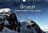 Grüezi . Landschaften in der Schweiz (Wandkalender 2019 DIN A4 quer): Die Schweiz lädt zum Verweilen ein. Lassen Sie sich überraschen. (Monatskalender, 14 Seiten ) (CALVENDO Orte)