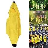 Huhuswwbin Disfraz de plátano Unisex para niños