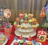 Best Pop Pop - EKRON 3-Tier Plastics Cake Pop Lollipop Cupcake Display Review