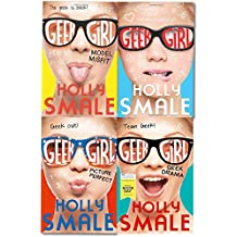 Geek Girl Series Holly Smale 4 Books Collection Set (Picture Perfect, Model Misfit, Geek Girl & Geek Drama