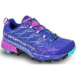 La Sportiva Akyra Woman GTX, Scarpe da Trail Running Donna, Blu/Viola (Iris Blue/Purple 000), 41 EU