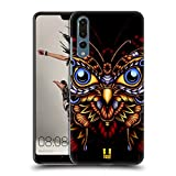 Head Case Designs Eule Faunafly Ruckseite Hülle für Huawei P20 Pro