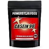 CASEIN 90   86,8% Protein   0,1% Kohlenhydrate   Ideal als Diät- & Nachtprotein   Hergestellt aus 100% Weidemilch   Für Muskelaufbau & Abnehmen   1000g   Made In Germany   Vanilla