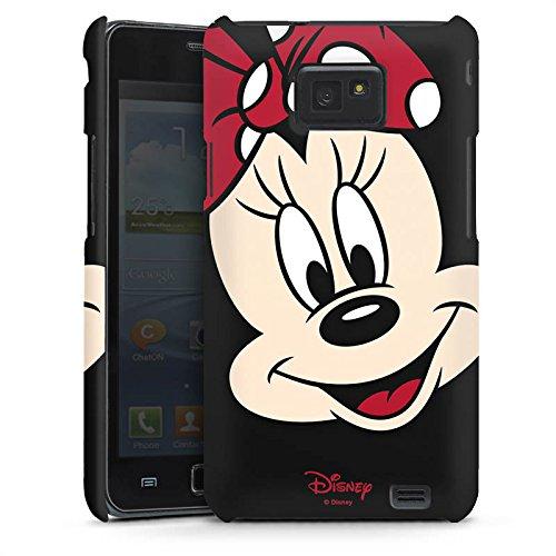 Handyhülle kompatibel mit Samsung Galaxy S2 Hülle Premium Case Disney Minnie Mouse Geschenk Merchandise
