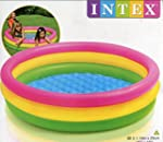 Intex - 57412- Piscine 3 Boudins Fond...