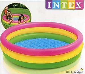 Mac Due Intex 57412 - Piscina 3 Anelli Color