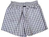 Blacksmith Men's Cotton Boxer Shorts - Brinjal_L
