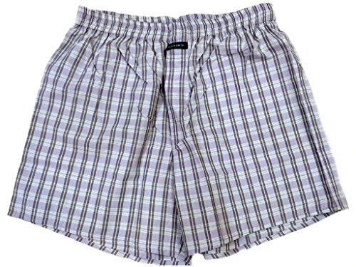 Blacksmith Men's Cotton Boxer Shorts - Brinjal_XL  available at amazon for Rs.199