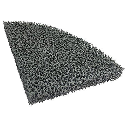 Feinstaub Rußfilter 215x165x25mm S10 (halb rund)