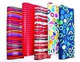 10er Rollen Set Everyday Geschenkpapier 200 x 70 cm verschiedene Designs