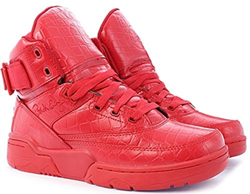 Ewing Athletics Ewing 33 HI Red Croc Skin Basketball Shoes Limited Edition red red ag