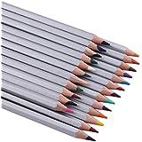 Ohuhu® 24-Couleurs Coloré Crayons Professionnel de Haute Qualité Art Dessin Crayons / Crayons de couleur pour Jardin secret Artiste Sketch, Ensemble de 24 couleurs