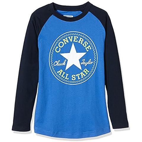Converse - Chuck Patch Raglan, T-shirt Bambino