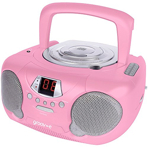 Groove CD/Radio Player - Pink Test