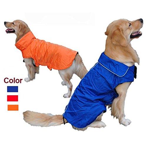 TOPSOSO Fashion Shop Universal Wasserdichter Fleece Pet Dog Outdoor Winter Gepolsterte Weste Coat, L (Back 15.35