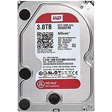 """Western Digital Red 3TB SATA 6 Gb/s - Disco duro (Serial ATA III, 3000 GB, 8,89 cm (3.5""""), 0,6W, 4,4W, 4,4W)"""