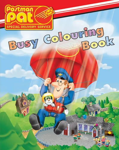 Postman Pat Busy Colouring Book (Postman Pat Special Delivery Service)
