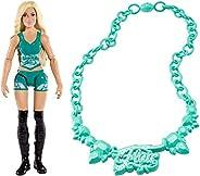 لعبة شخصية Wwe Charlotte Flair Action - 6 سنوات فما فوق، أخضر قياسي