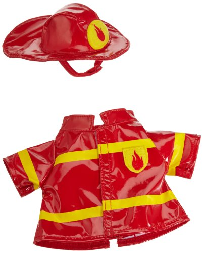 Nici 35777 - Dress Your Friends - Outfit Set Feuerwehrmann für 25 cm Puppen