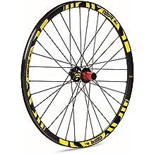 GTR GTR-SL Rueda trasera para MTB, unisex adulto, amarillo, 27.5