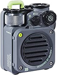 Muzen Wild Mini Rugged Outdoor Speaker, Bluetooth Portable Speaker with Louder Volume, Crystal Clear Sound, Wi