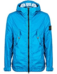 Stone Island Jacket Teal Membrana 3L TC Hooded Jacket – RRP £495 – (681541123 V0023)