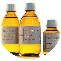 PureSilverH2O 600ml Kolloidales Silber (2x 250ml/50ppm) + Flasche (100ml/50ppm) Reinheit & Qualität seit 2012 - preisvergleich