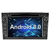 Ohok 7 Pollici Android 8.0.0 Oreo Octa Core 4G+32G 2 Din In Dash Autoradio Schermo di Tocco Lettore DVD Navigatore GPS Con Bluetooth Per OPEL Vauxhall Astra Antara Vectra Corsa Zafira nero