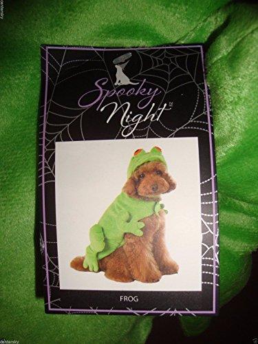 Spooky Night Hund Kostüme. Frosch, Feuerwehr, Crab, XS, Multi