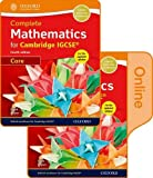 Complete Mathematics for Cambridge IGCSE® Print & Online Student Book (Core) (Cie Igcse Complete)