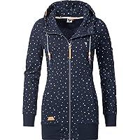 Ragwear Damen Jacke Übergangsjacke Sweatjacke Eveleen 2 Farben XS-XL