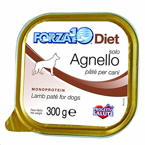 FORZA 10 régime alimentaire agneau 300g Aliment humide monoprotein chien