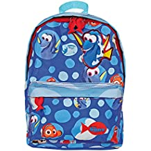Perletti - Mochila para niña y niño de Buscando a Dory Disney Pixar - Mochila para el jardín de infancia y el tiempo libre, con correas regulables y estampado de Nemo y Dory - 31 x 22 x 10 cm