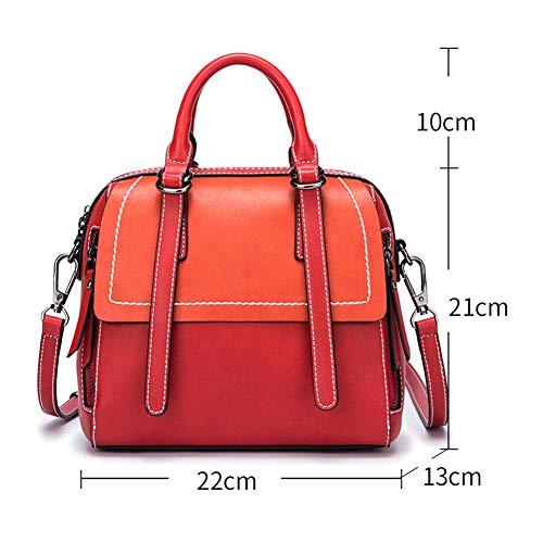asche Umhängetasche Shopper PU Leder Moderne Damen Fashion Taschen Umhängetasche Shopper eignet Sich für die Arbeit, das tägliche Leben ()