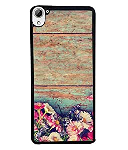 Fuson Designer Back Case Cover for HTC Desire 826 :: HTC Desire 826 Dual Sim (Garden Flowers Phool Gardening Wall )