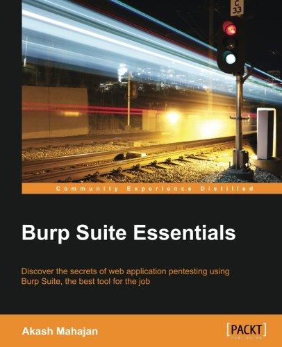 Preisvergleich Produktbild Burp Suite Essentials (English Edition)