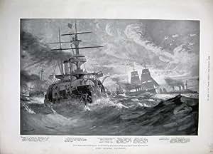 1894 Bateaux de Guerre Russes Terez Tchesma Sinope Obsolète