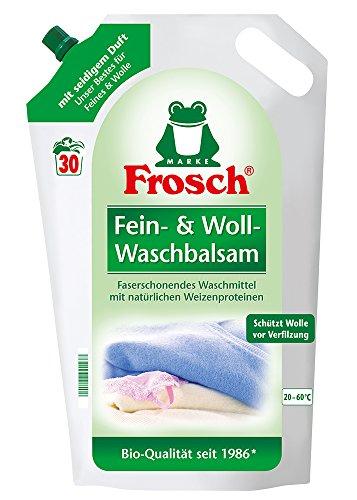 Die Frosch Waschmittel Fein & Woll  im Vergleich