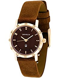 Orphelia Damen-Armbanduhr Analog Quarz Leder OR22171833