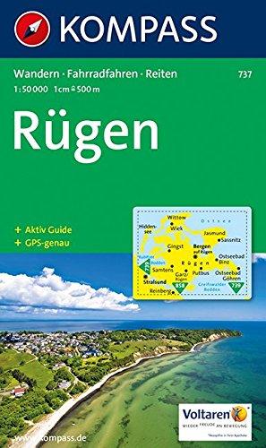 Insel Rügen (Insel Rügen: 1:50.000. Wandern / Rad. GPS-genau)