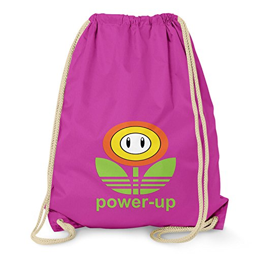 Texlab - Power Up - Turnbeutel Fuchsia