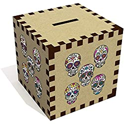 Azeeda 'Calaveras de azúcar' Caja de dinero (MB00075295)