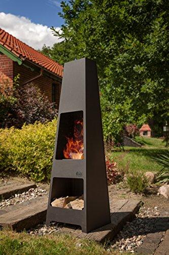 Luxus Garten-Feuerstelle